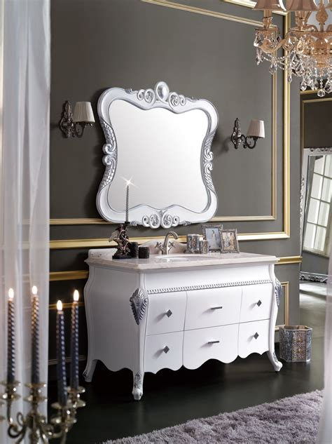 European Style Bathroom Vanity by Wood European Style Vanity Combo With Mirror Bathroom