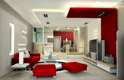 Simple Modern Red Living Room Ideas Pictures Decorating | red and white living room ideas modern design decobizz com