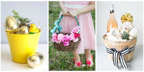 easter ideals 20 cute homemade easter basket ideas easter gifts for