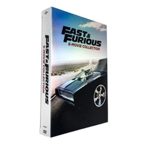 Fast Furious Collection fast and furious 8 collection dvd boxset