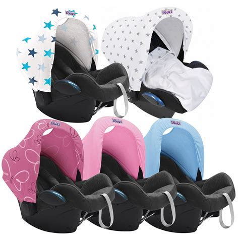 spare car seat dooky hoody universal car seat infant carrier