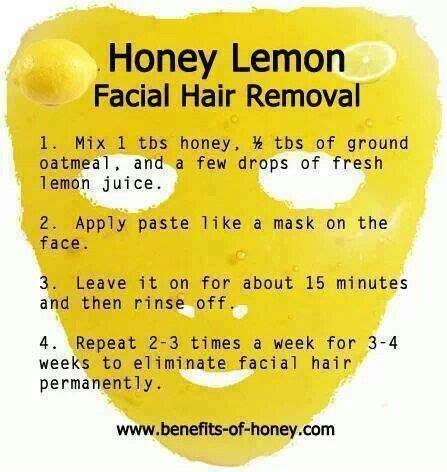 oatmeal treatment for hair honey lemon facial hair removal try grinding the oatmeal