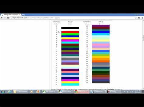 pattern color index excel vba vba excel change cell color index excel vba fill pattern