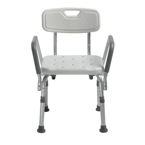 bath bench with back knock down bath bench with back and padded arms drive