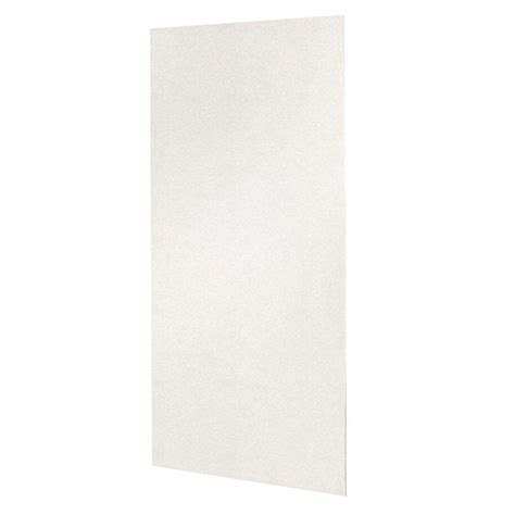 swan 48 in x 96 in 1 easy up adhesive shower wall