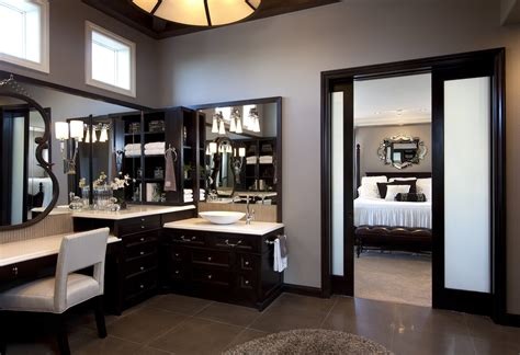 stylish transitional master bedroom robeson design stylish transitional home master bathroom