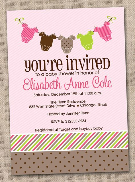 Baby Shower Invitaitons by Baby Shower Invitation Wording Lifestyle9