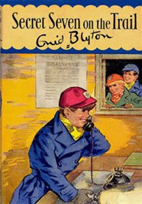 secret seven on the secret seven on the trail by enid blyton