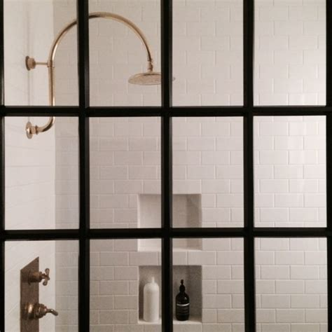 narrow shower door 700 series with narrow 1 1 8 quot muntin in black anodized