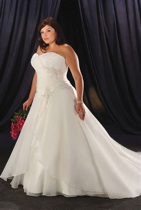 Plu Size Wedding Dresses by Plus Size Wedding Dresses Make You Look Like A Princess