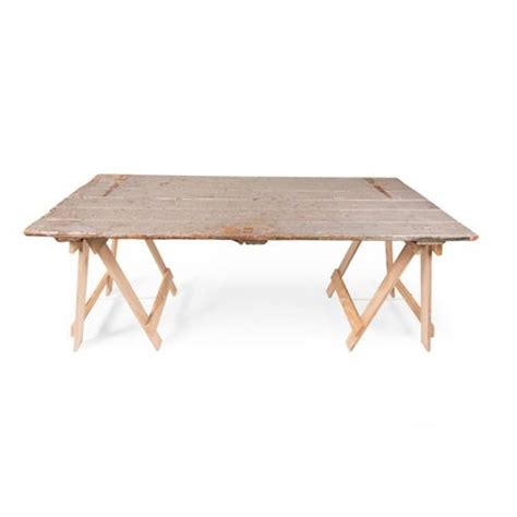 trestle table and bench hire silver painted trestle table out of stock furniture