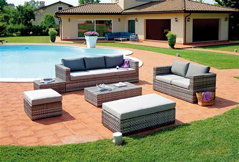 mobili da giardino rattan vendita mobili da giardino in rattan sintetico moia
