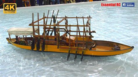 steam powered rc boat the beast steam powered rc paddle ship ultrahd 4k