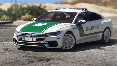 Add On Oiv 2018 Volkswagen Arteon Dubai Police Gta5