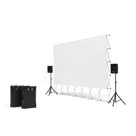 silver screen showcase series outdoor theater systems