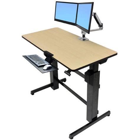Amazon Com Ergotron Workfit D Sit Stand Desk 24 271 928 Ergotron Standing Desk