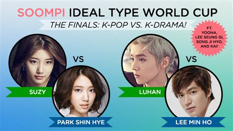 exo ideal type quiz soompi ideal type world cup final round soompi
