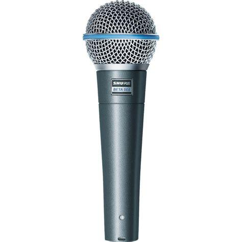 Shure Microhpone Beta 58a Suara Mantap The Vocal shure beta58a supercardioid dynamic mic beta 58a b h photo