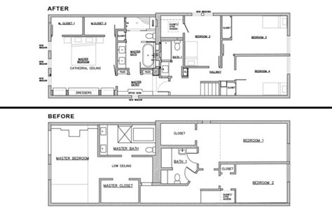 transitional floor plans piggy back house floor plan chicago by mpink design llc