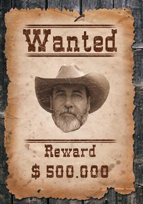 Word Vorlage Wanted Steckbrief Freitagstutorial Wanted Motiv Mit Photoshop 187 Saxoprint