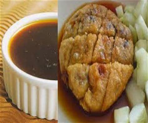 resep membuat empek empek telur resep saus pempek atau empek empek palembang original