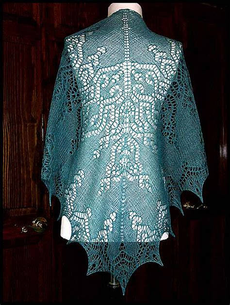 pattern for lace yarn quot poesie quot knit lace shawl in wool silk lace weight yarn