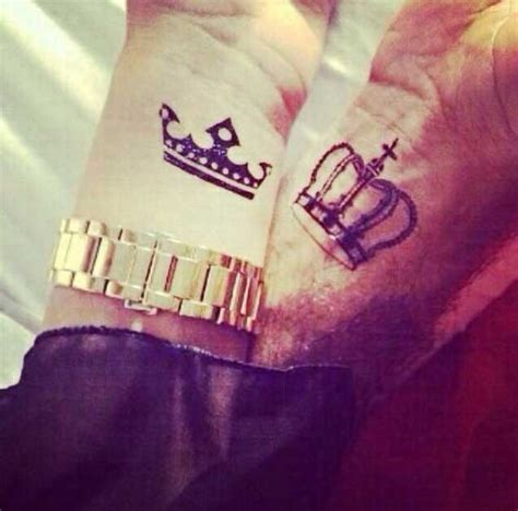 imagenes de tatuajes de king y queen 40 king queen tattoos that will instantly make your