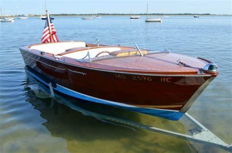 jfks wooden speedboat restofus sells   ybw