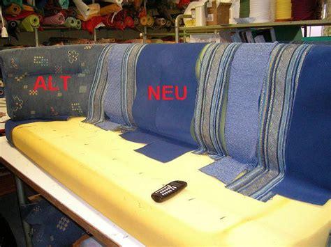 Polster Beziehen Anleitung by Aus Alt Mach Neu Wohnmobilsitzbank Vorher Nachher