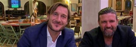 vincent candela ristorante roma totti a cena con candela dopo la vittoria con il