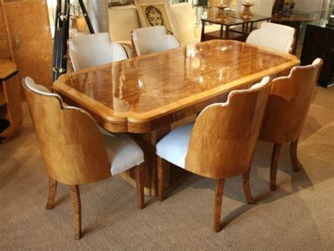 art dining room furniture epstein art deco dining table and chairs 216922