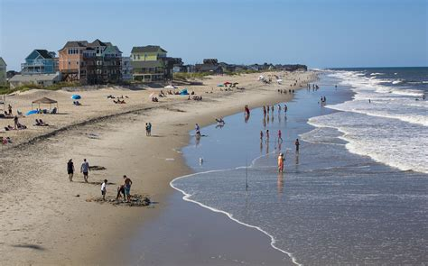 outer banks carolina beaches on carolina s outer banks a preview of what might