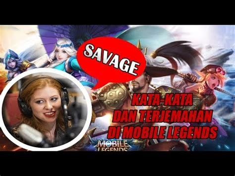 kata kata di mobile legend kata kata announcer di mobile legends terlengkap beserta