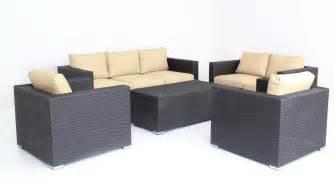 Patio Furniture Prices 5pc Modern Outdoor Backyard Wicker Rattan Patio Furniture
