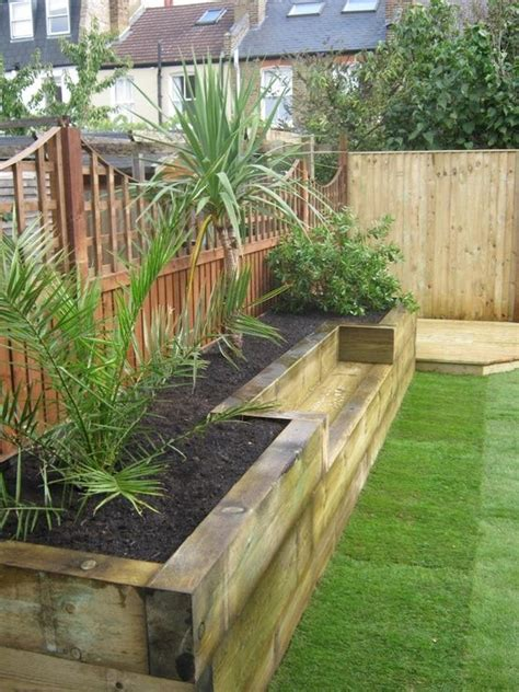 Raised Garden Border Ideas Built In Planter Ideas Gardens Raised Beds And Raised Gardens