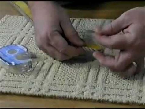 rug cutting and binding how to apply instabind diy on site carpet binding