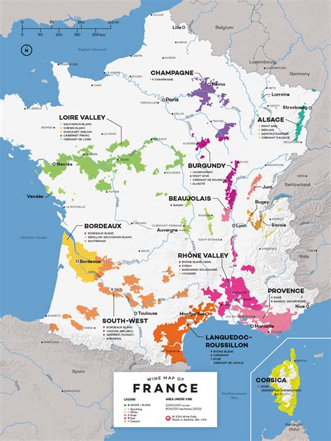 french wine exploration map wine folly