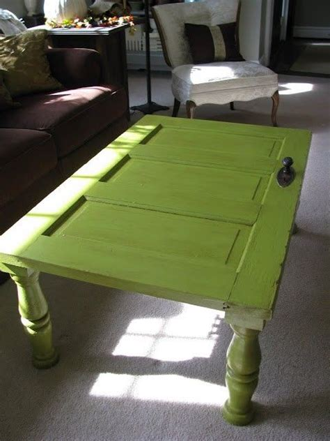 Coffee Table Made Out Of Old Door For The Home Pinterest Coffee Table Made From Door