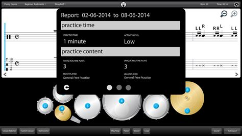 drum tutorial app drums learn lessons free guide android apps on google play