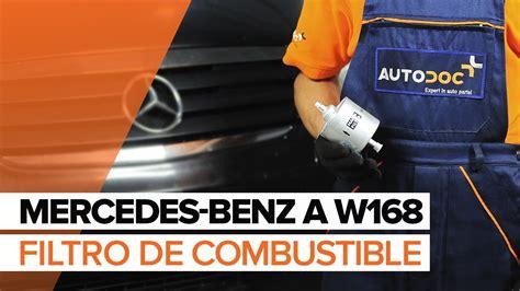 como cambiar filtro de gasolina pointer youtube c 243 mo cambiar filtro de combustible en mercedes benz a w168