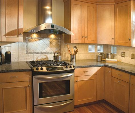 kitchens with light maple cabinets light maple cabinets