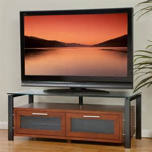 tv stands 50 inch plateau decor 50 inch tv stand in walnut with black frame