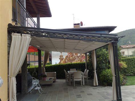 tettoie in ferro battuto per esterni tettoie in ferro