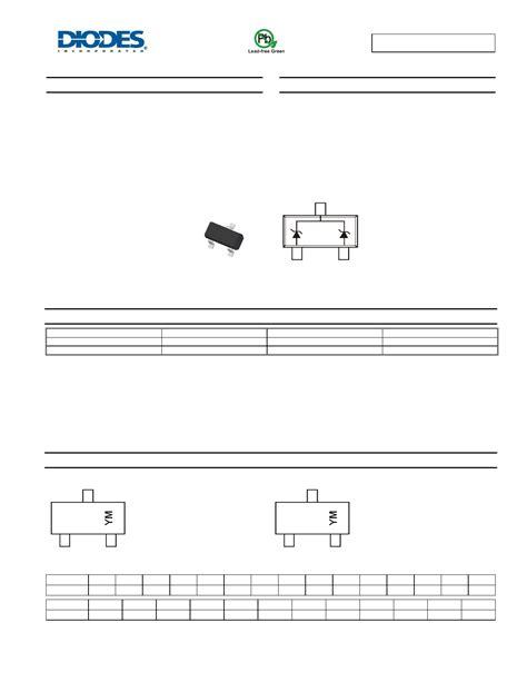 dual zener diode common cathode dz23c3v9 datasheet pdf pinout 300mw dual surface mount zener diode