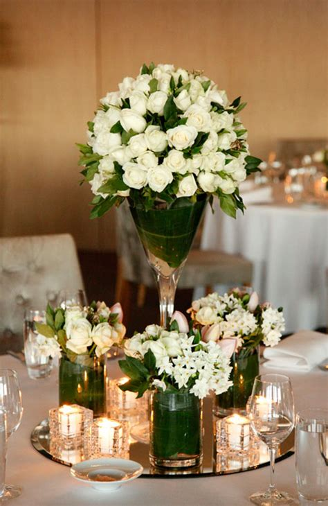 white roses centerpieces for weddings a wonderful white wedding at sargents mess