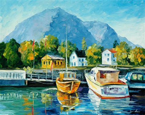 new painting free mediterranean noon 1 palette knife painting on