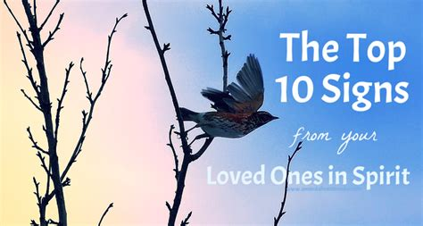 Spirits Of Loved Ones In House by 10 Most Common Signs From Your Deceased Loved Ones