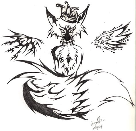 tribal fox tattoo designs tribal fox by mitsiecake on deviantart