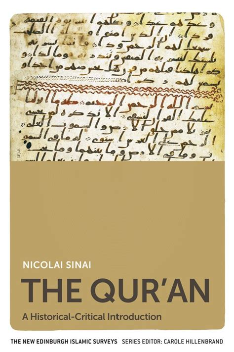 book review the qur an a historical critical introduction by nicolai sinai muslims4uk