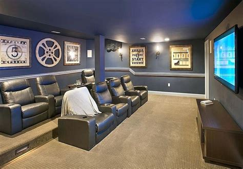 home theater decorations cheap marvelous basement home theater ideas design movie